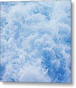 Churning Water Metal Print