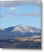 Cibola Mountains Metal Print