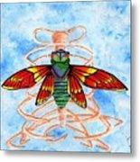 Cicada Cage Metal Print