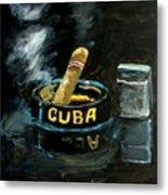 Cigar Metal Print