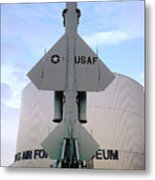 Cim-10a Bomarc Missile At The Air Force Museum Dayton Ohio Metal Print