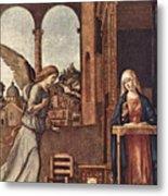 Cima Da Conegliano The Annunciation Metal Print
