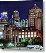 Cinci From The Opposite Side Metal Print