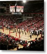Cincinnati Bearcats Fifth Third Arena Metal Print