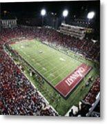 Cincinnati Nippert Stadium The Home Of Bearcat Football Metal Print by University of Cincinnati