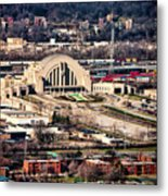 Cincinnati Union Terminal Metal Print