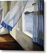 Cindy's Window Metal Print