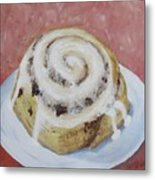 Cinnamon Roll Metal Print