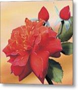 Cinnamon Roses Metal Print