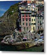 Cinque Terre Northern Italy Metal Print