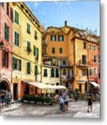 Cinque Terre - Vernazza Main Street Metal Print