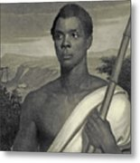 Cinque, The Chief Of The Amistad Captives Metal Print