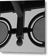Circle Bar I Metal Print