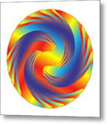Circle Study No. 231 Metal Print