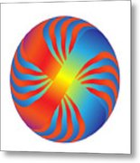 Circle Study No. 236 Metal Print