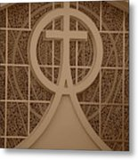 Circle T Church Metal Print