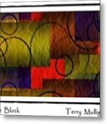 Circle The Block Metal Print