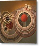Circles And Rings Metal Print