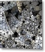 Circles And Stars Metal Print