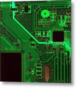 Circuitry Metal Print