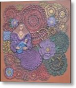 Circulo Mother And Child Metal Print