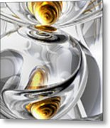 Circumvoluted Abstract Metal Print