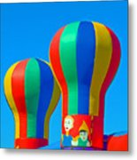 Circus In The Sky - Three Metal Print
