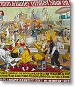 Circus Poster, 1903 Metal Print