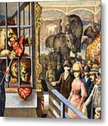 Circus Poster, C1891 Metal Print