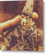 Circus Puppeteer  Metal Print