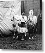 Circus: Rider, C1904 Metal Print