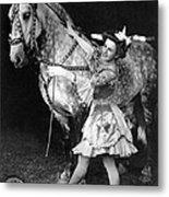 Circus: Rider, C1908 Metal Print