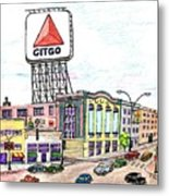 Citco Boston Metal Print