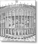 Citi Field Metal Print by Juliana Dube