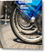 Citibike Manhattan Metal Print