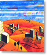 Cities And Towns Metal Print