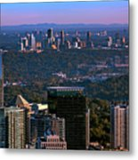 Cities Of Atlanta Metal Print