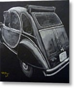 Citroen 2cv Charleston Metal Print