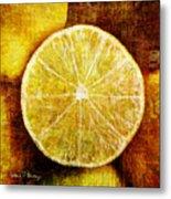 Citrus Metal Print