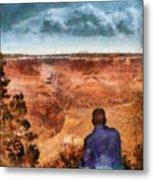 City - Arizona - Grand Canyon - The Vista Metal Print