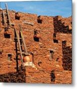 City - Arizona - Pueblo Metal Print
