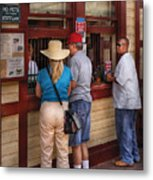City - Lancaster Pa - The Train Station Metal Print