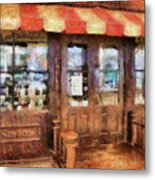City - Ny 77 Water Street - Candy Store Metal Print