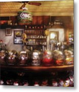 City - Ny 77 Water Street - The Candy Store Metal Print by Mike Savad