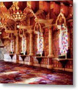 City - Vegas - Excalibur - In The Great Hall  Metal Print