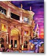 City - Vegas - Mirage - The Entrance Metal Print
