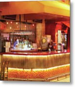 City - Vegas - Ny - The City Bar Metal Print