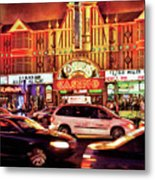 City - Vegas - O'sheas Casino Metal Print