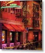 City - Vegas - The Pizza Joint Metal Print
