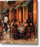 City - Venetian - Dining At The Palazzo Metal Print